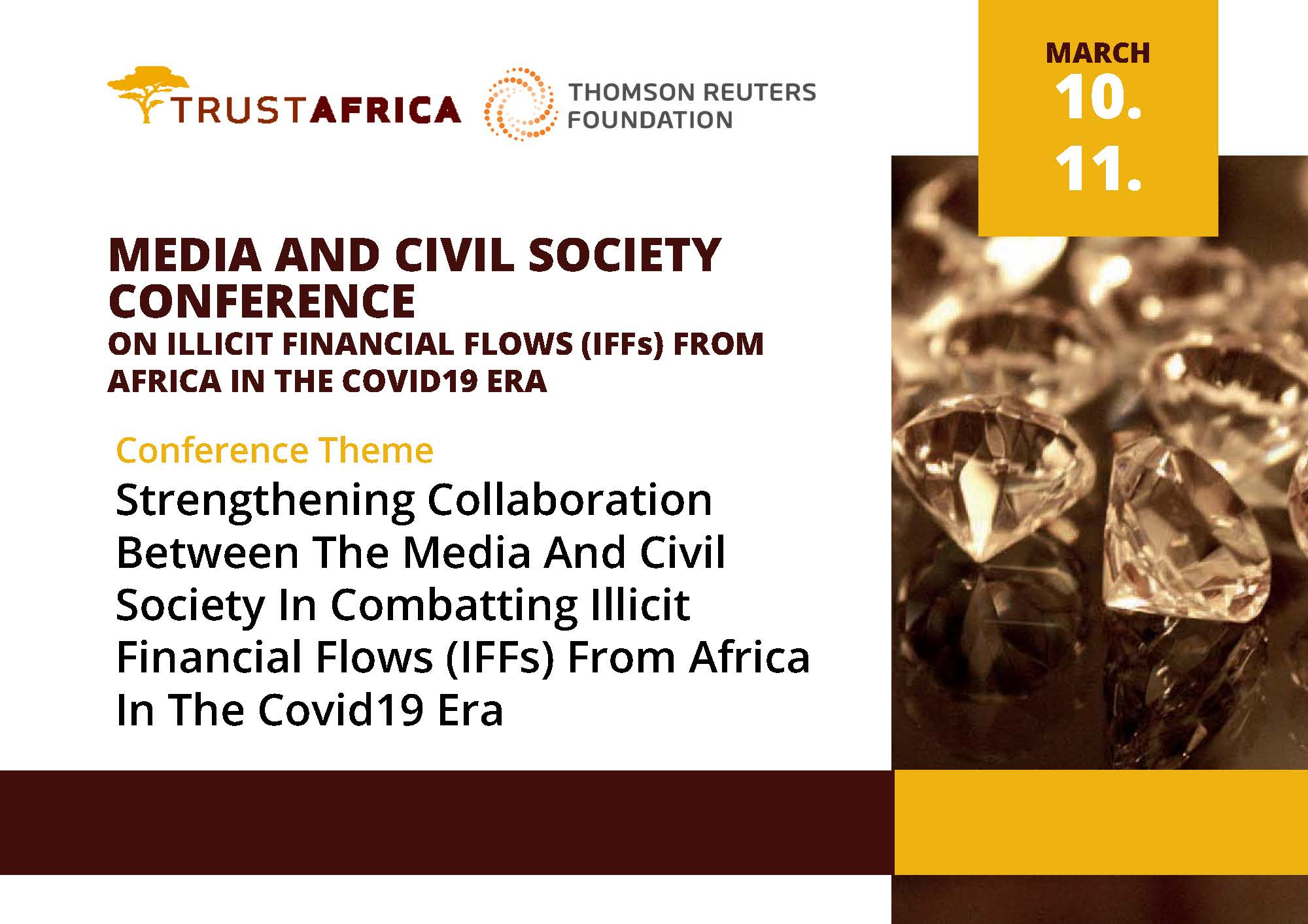 MEDIA AND CIVIL SOCIETY CONFERENCE ON ILLICIT FINANCIAL FLOWS (IFFS)  FROM AFRICA IN THE COVID19 ERA