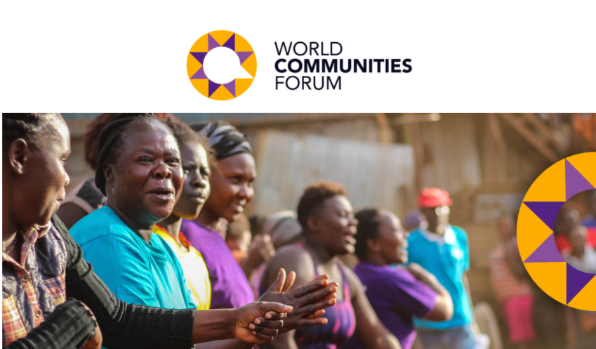 Join us at the inaugural World Communities Forum 23-24 March 2021