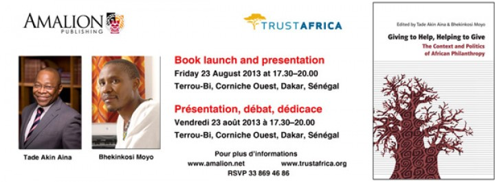 TrustAfrica is Pleased to Announce the Arrival of a Groundbreaking Book on African Philanthropy