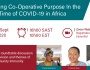 Pursuing Co-Operative Purpose in the Time of COVID-19 in Africa